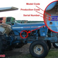 1964 Ford 4000 Tractor Wiring Diagram Perkins Diesel Timing 5000 Schematic Tractordata Com Information 2000 Photo Of Serial