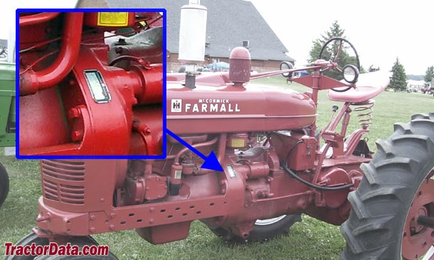 1951 farmall m wiring diagram massey ferguson 35 tractordata com tractor information photo of serial number