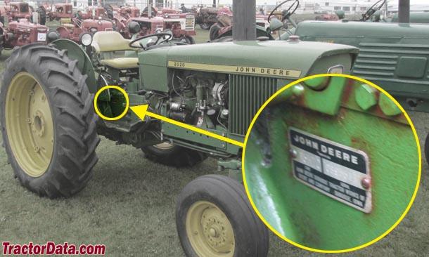 1020 John Deere Wiring Tractordata Com John Deere 2020 Tractor Photos Information