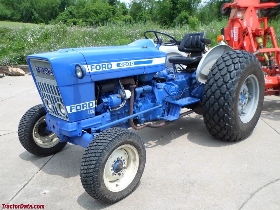 TractorDatacom Ford 4000 tractor photos information