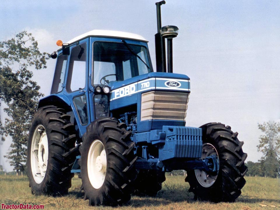 TractorDatacom Ford 7710 tractor photos information