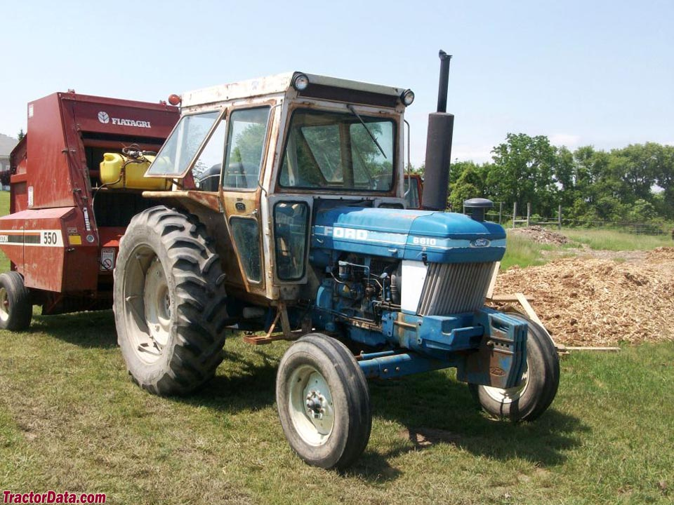 TractorDatacom Ford 6610 tractor photos information