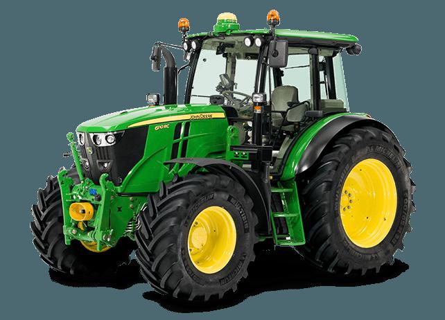 Tractor John Deere 120CV. Fuente: John Deere