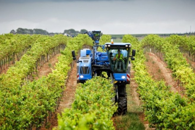 Tipos de máquinas: tractor zancudo