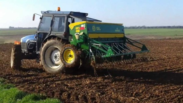 Sembradora cultivos herbáceos. Fuente: New Holland