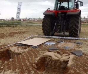 Ensayo de Neumáticos agrícolas Michelin