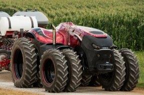 Tractor autónomo: el primer tractor que conduce solo. Case IH Autonomous