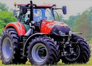 🥇 Mejor tractor del año 2017. Case IH Optum 300 CVX