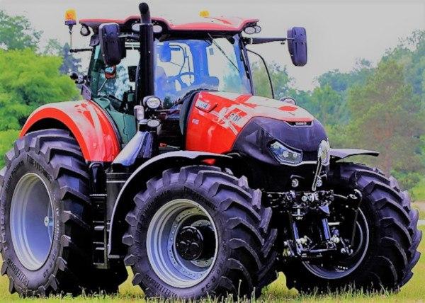 Mejor tractor del año 2017. Case IH Optum 300 CVX