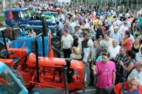 Exhibición de Maquinaria Agrícola antigua. La Rioja en Tractor Clásico