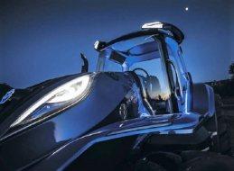 Tractor de metano de New Holland ¿La granja del futuro?