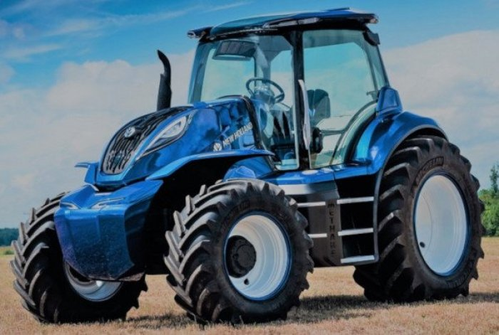 Tractor de metano New Holland