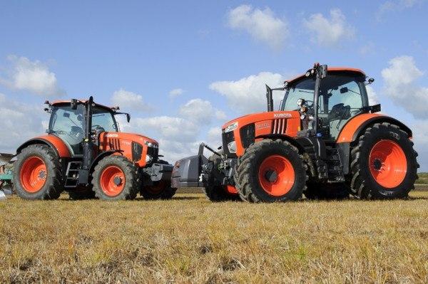 Serie M7001 Tractores Kubota