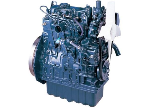 Motor de los Tractores Kubota