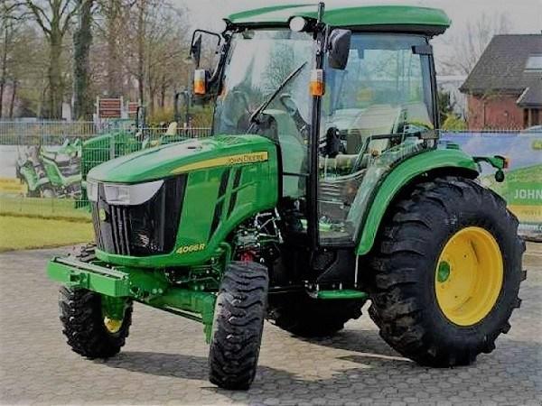 Tractor John Deere 4066R, vista general