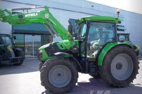 Tractores de segunda mano Deutz-Fahr