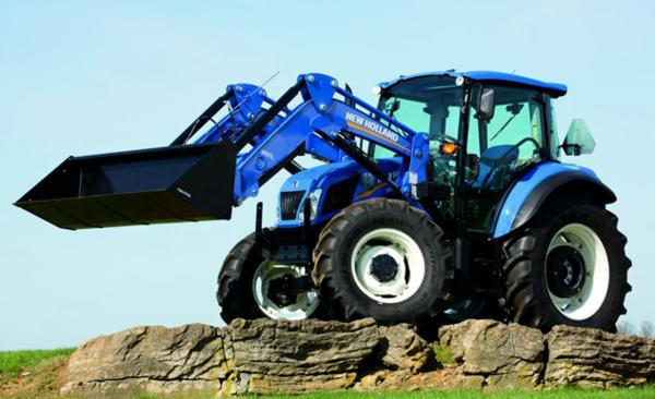 Tractor de segunda mano con pala