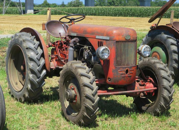 El primer tractor SAME con doble tracción