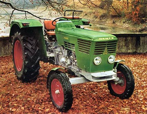 Tractor Deutz-Fahr antiguo