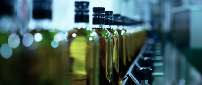 Maquinaria: Envasado del aceite de oliva
