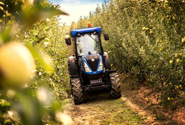 Tractor nuevo New Holland frutero