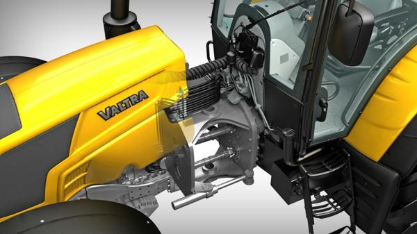 Tractor articulado Valtra