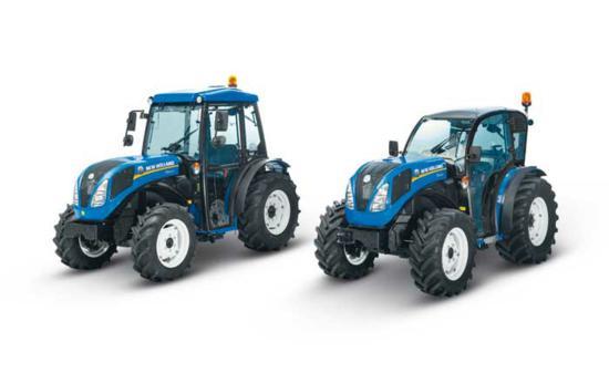 Tractor frutero New Holland