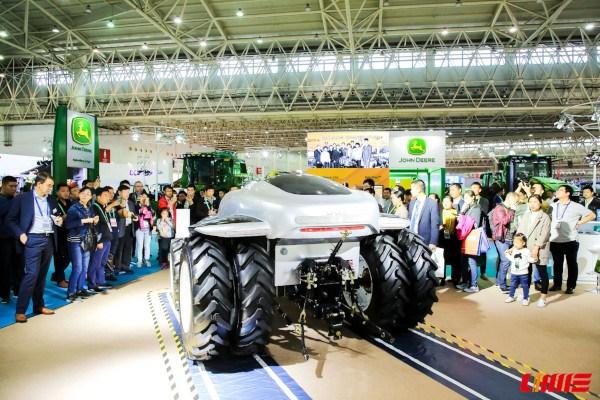 Prototipo de tractor autónomo chino