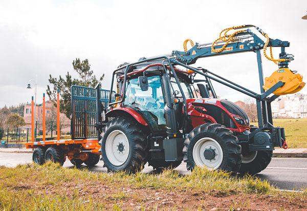 Grúa para tractor forestal Hitraf