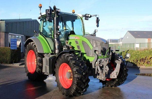 Tractor de media potencia Fendt 512 Vario S4