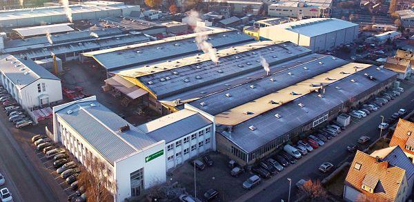 Instalaciones de Kverneland Soest en Alemania