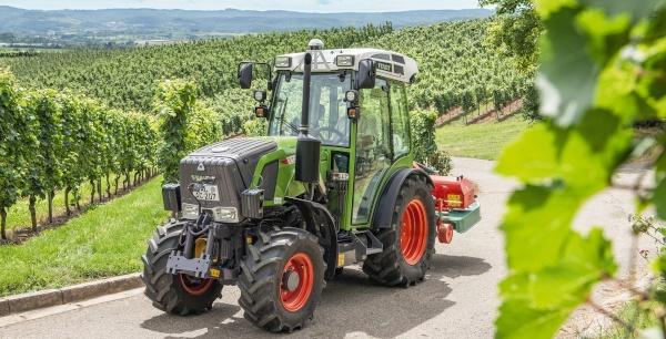Tractores fruteros con cabina