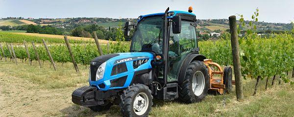 Tractor viñero marca Landini