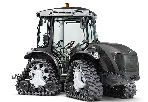 Tractor frutero de cadenas u orugas