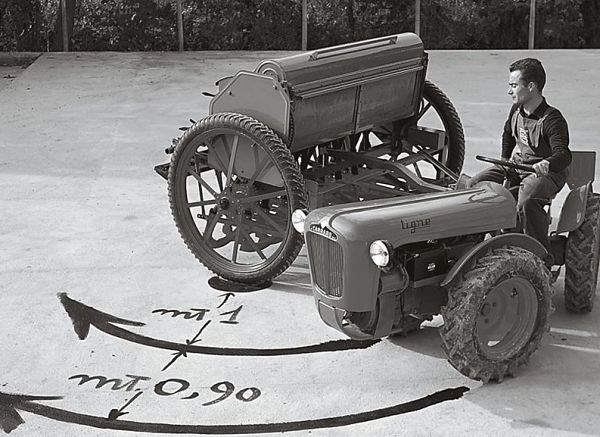 Tractor Antonio Carraro Antiguo