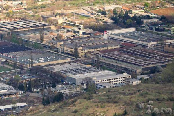 Fábrica de tractores Zetor en Brno (República Checa)