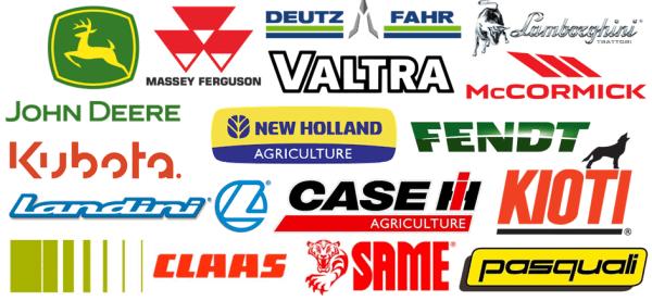 Algunas marcas de tractores (Elaboración propia)