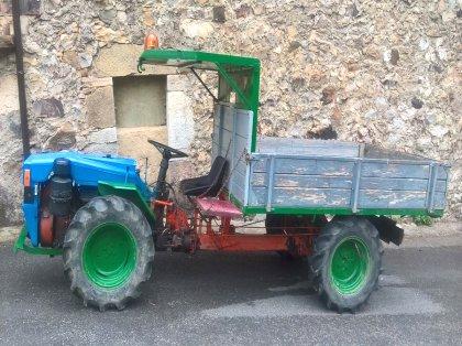 Tractocarro Pasquali en Asturias