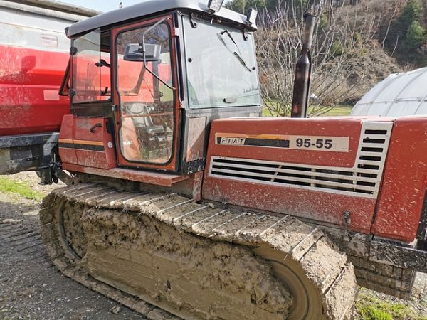 Tractor oruga Fiat 95-55
