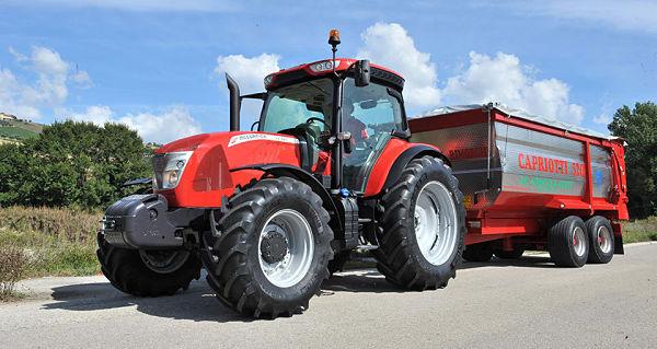 Tractor McCormick X6 VT Road