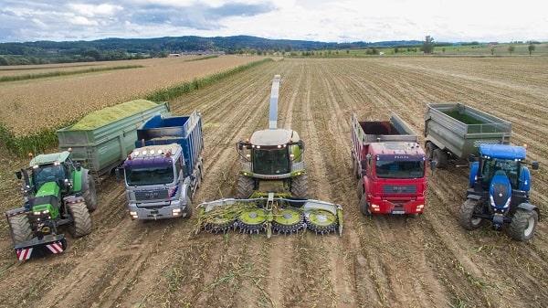 Maquinaria agrícola en renting