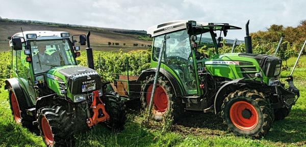 Tractores Fendt de la gama 200 V