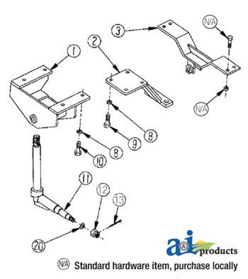 International Front Axle Diagram FJ40 Front End Diagram