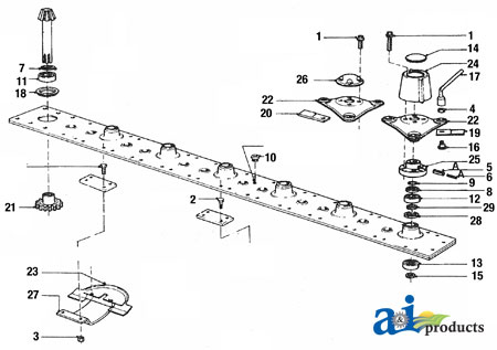 John Deere Backhoe Wiring Diagram 30573100 Squeeze Nut M10 For Vicon Up To 60 Off