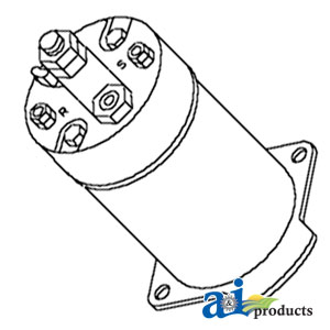 843 Bobcat Wiring Diagram 6599449 Solenoid Starter 12 Volt For Bobcat Up To
