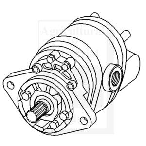Allis Chalmers 6060 Hydraulic Pump Iseki Hydraulic Pump