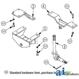 International Harvester 544 Parts Diagram