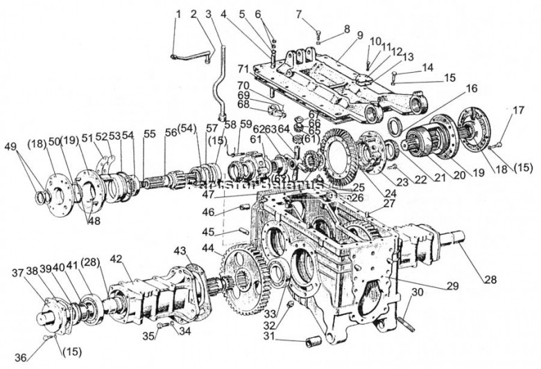 Images About 510 Long Tractor Parts Diagram