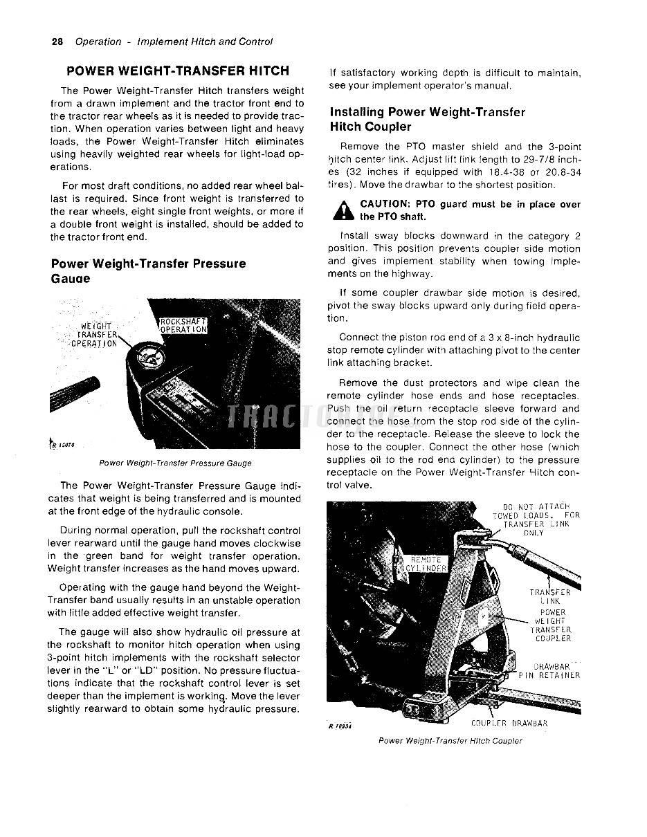 hight resolution of john deere operators manual 4320 tractor