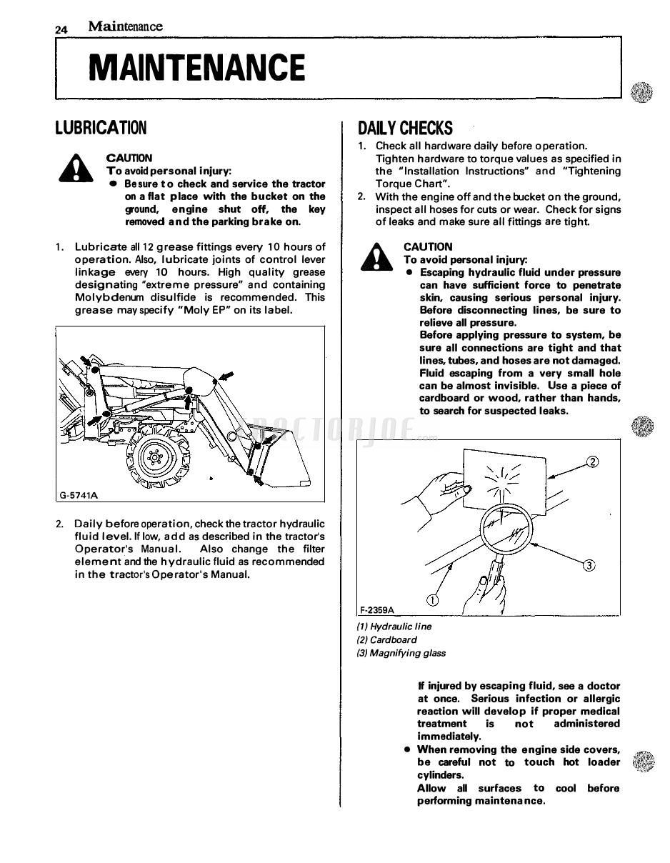 hight resolution of kubota front loader la272 la302 la352 la402 operator manual
